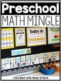 Preschool Math Mingle (Beyond Calendar)   Homeschool Compatible  