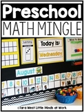Preschool Math Mingle (Beyond Calendar) | Homeschool Compatible |
