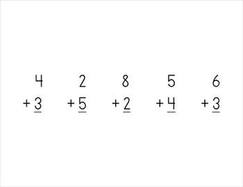 Preschool Math: Number Tiles