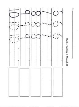 Preschool Math- Number Writing Part 2