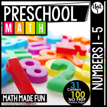 Preschool Math: Numbers 1-5