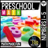 Preschool Math: Numbers 1-5