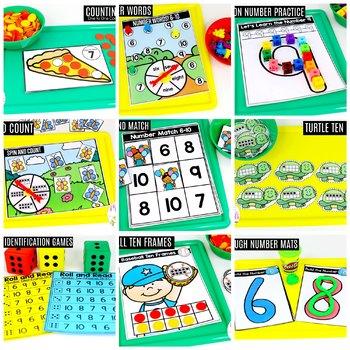 Preschool Math: Numbers 6-10
