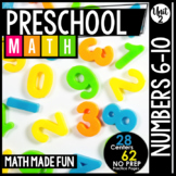 Preschool Math: Numbers 6-10