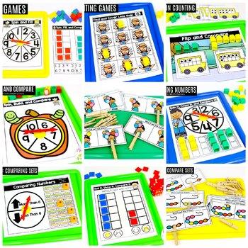 Preschool Math: Comparing Numbers