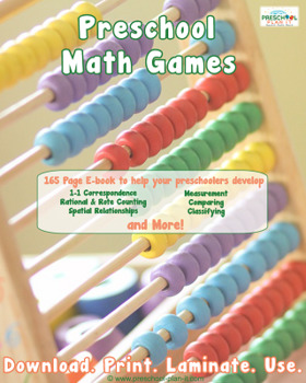 Preschool Math Printable Activities