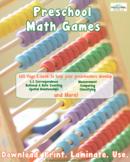 Preschool Math Printable Activities