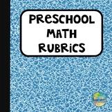 Preschool Math Rubrics
