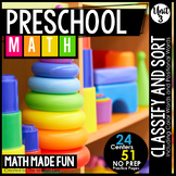 Preschool Math: Sort and Classify with Color Words and Pos