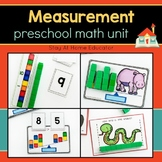 Preschool Math Unit - MEASUREMENT