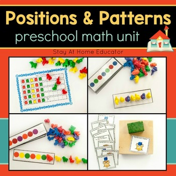 Preschool Math Unit - POSITIONS AND PATTERNS