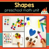 Preschool Math Unit - SHAPES