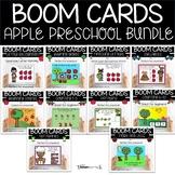 Preschool Math and ELA Back to School Boom Card Bundle