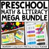 Preschool Math and Literacy MEGA BUNDLE