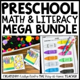 Preschool Math and Literacy MEGA BUNDLE
