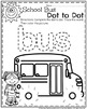Preschool Worksheets - Back to School