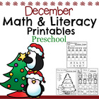 Preschool Worksheets - December