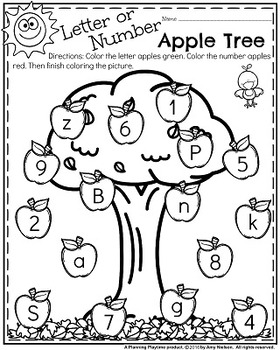 Preschool Worksheets - November