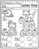 Preschool Worksheets - October