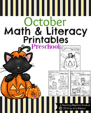 Preschool Worksheets - October
