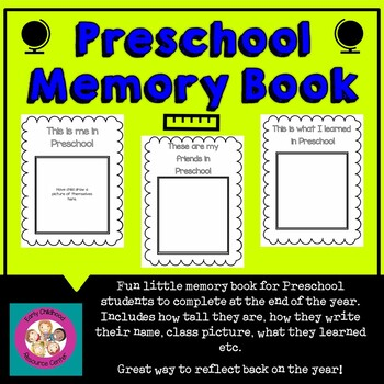 It is a picture of Preschool Memory Book Printable throughout number