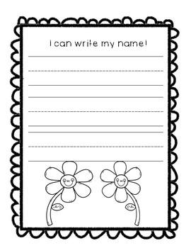 Preschool Memory Book FREE SAMPLE