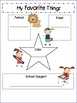 Preschool Memory Book (Full Page)
