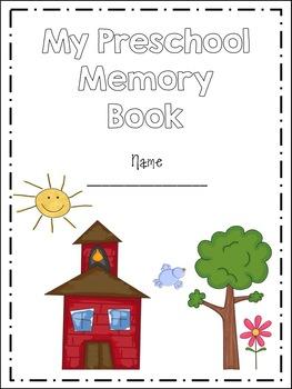 picture relating to Preschool Memory Book Printable identified as Preschool Memory Guide (Total Site)
