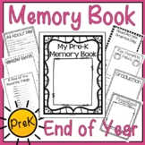 Preschool Memory Book (PreK End of Year Memory Book)