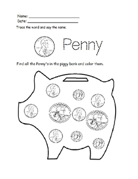 Preschool Money Worksheets by OSEE's Home Schooled ...