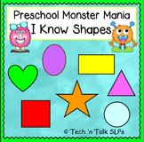 Preschool Monster Mania - I Know Shapes