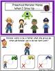 Preschool Monster Mania - When I Grow Up - Interactive Printable Book