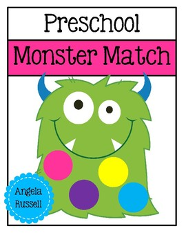 Preschool - Monster Match