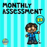 Preschool Monthly Assessment Forms