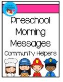 Preschool Morning Meeting - Community Helpers