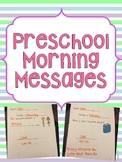 Preschool Morning Messages