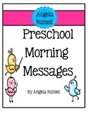 Preschool Morning Messages - Set 1
