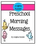 Preschool Morning Messages - Set 1