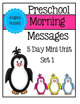 Preschool Morning Messages - 5 Day Mini Unit