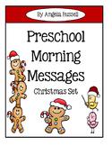 Preschool Morning Messages ~ Christmas Set