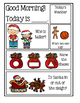 Preschool Morning Messages ~ Christmas Set