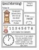Preschool Morning Messages ~ Nursery Rhymes