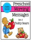 Preschool Morning Messages - Set 3