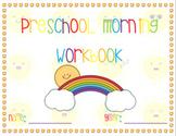 Preschool Morning Workbook