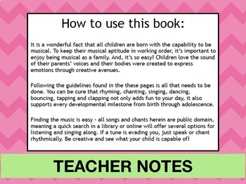 PreK Music Class Lesson Plans - First Day of School Activities