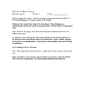 Preschool Music Lessons - April