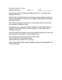 Preschool Music Lessons - January
