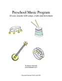 Preschool Music Program