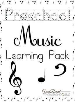 Preschool Music Worksheets
