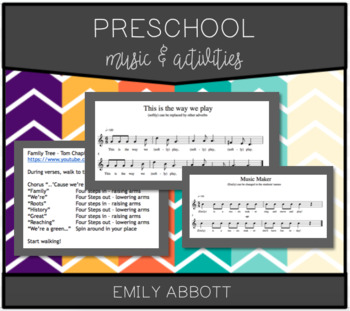 Preschool Music and Activities